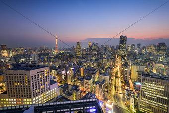 Tokyo, Japan Skyine