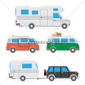 camper car set