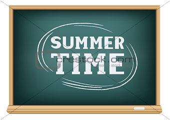 blackboard summer time