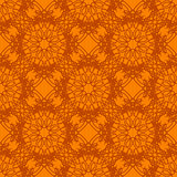 Seamless Texture on Orange. Element for Design