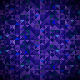 Old Mosaic. Blue-Mosaic-Banner