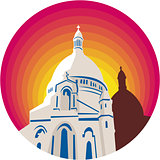 Catholic Church Dome Circle WPA