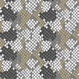 Python snake skin artificial seamless vector texture.