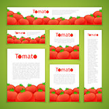 Set of Tomato Banners