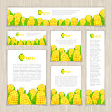 Set of Corn Banners