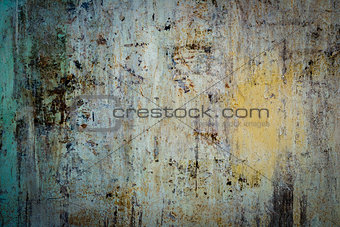 Abstract old rusty cracked metal background
