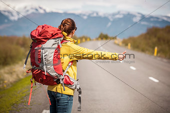 Backpacker Tourist