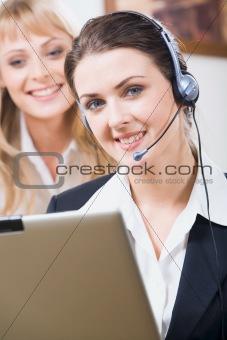 Customer service operator