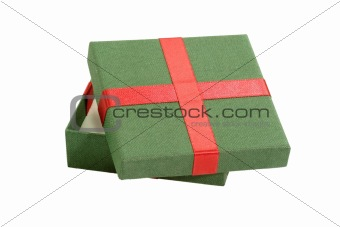 Green gift package