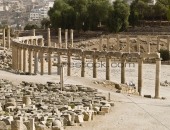 The Forum, Jerash
