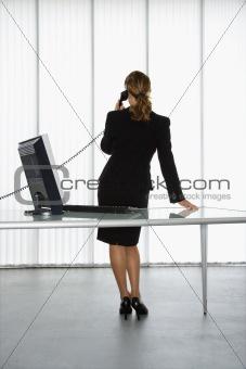 Office worker.