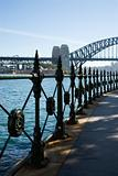 Sydney Harbour Bridge, Australia.