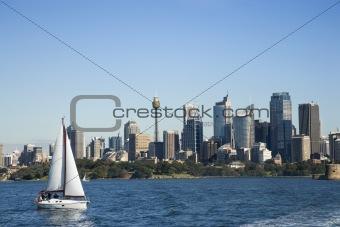 Cityscape of Sydney, Australia.