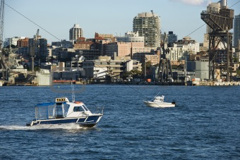 Water taxi, Australia.