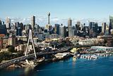 Sydney, Australia aerial.