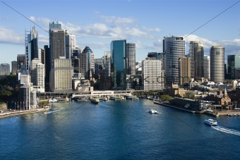 Sydney Cove, Australia.