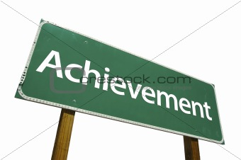 Achievement - Road Sign.