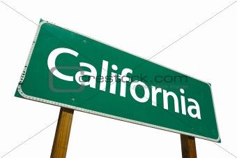 California - road-sign.