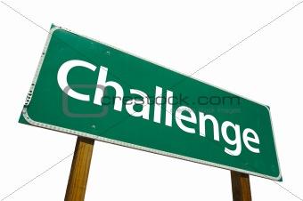 Challenge - road-sign.