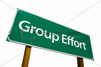 Group Effort - Road Sign