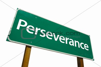 Perseverance  - road-sign.