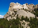 Mount Rushmore.