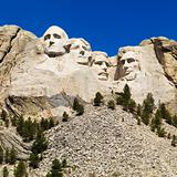 Mount Rushmore.