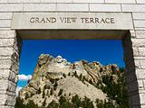 Mount Rushmore entrance.
