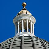Capitol building dome.