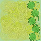 Saint Patrick's day background illustration