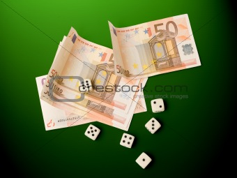 money and dice
