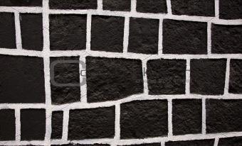 Black White Square Wall Mexico