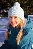 Young Snow Bunny