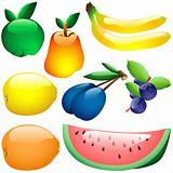 Glass Fruits