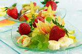 Fresh fruits as dessert