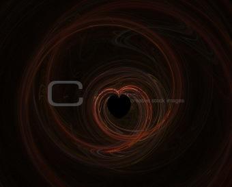 Fractal 13 - red heart