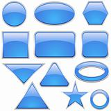Glass Icon Set Aqua