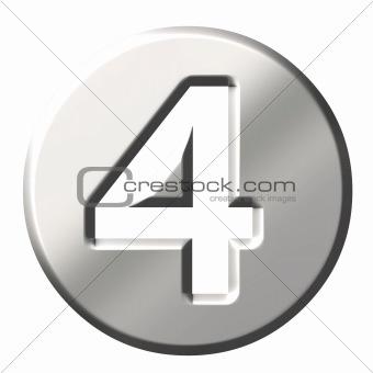 3D Steel Number 4