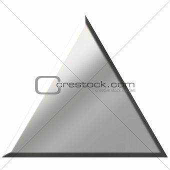 3d Steel Triangle