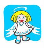 cheerful angel