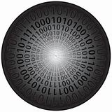 Binary Codes in Circle