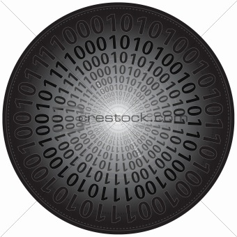 Binary Codes in Circle