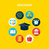 Education Infographic Concept