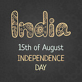 Indian Independence Day, 15 august