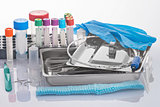 Medical tools and expendables for clinical laboratory