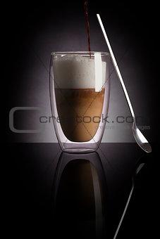 Caffee latte.
