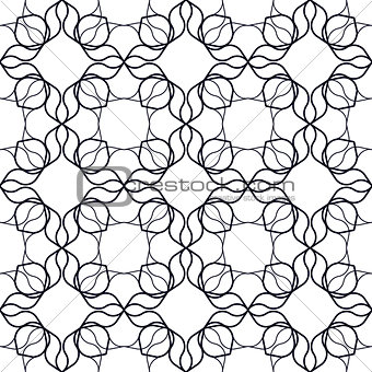 Art Nouveau Linear Pattern