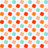 Colorful Rounded Squares Pattern