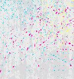 Vector texture splatters