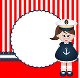 Sailor Girl Background